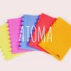 ページ入れ替え可能なノート!リングが可愛いATOMA(アトマ)