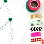 クリスマスカード手作りアイデア7選♡マスキングテープetcでおしゃれに!