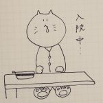 なけなしの文房具を持って入院中…カクノ(kakuno)アレンジ